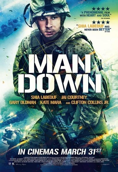 友军倒下 Man Down (2015)