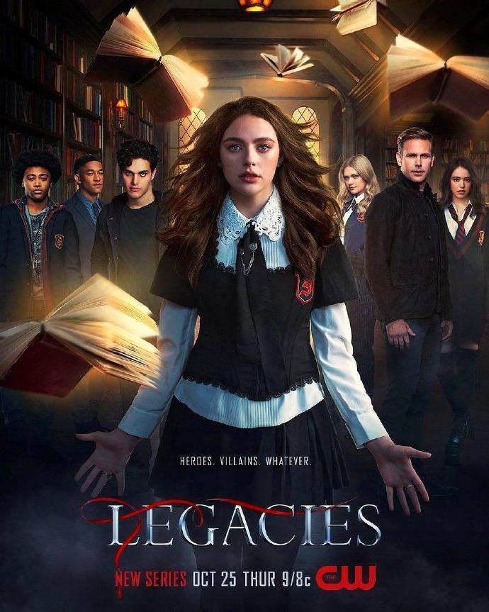 吸血鬼后裔 LegaciesLegacies 【更新至01】【2018】【美剧】