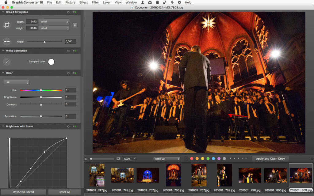 GraphicConverter 11.1.3 – Mac通用的图片编辑与格式转换工具