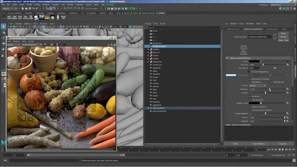 Autodesk Maya 2020.1 WIN MAC – 游戏产业应用最广的CG动画软体