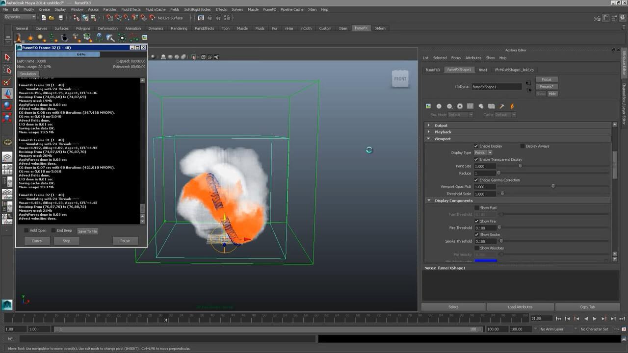 FumeFX 5.0.6 For 3DS MAX 2014~2020 WIN – 强大的Autodesk第三方强力流体动力学插件